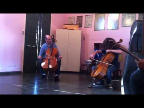 Masterclass Cello com o violoncelista Mark Kosover em São B