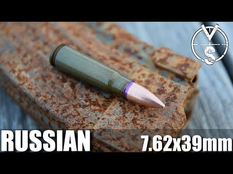 Red Army Standard 7.62X39mm Russian Ammo