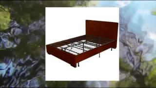Sleep Master Platform Metal Bed Frame Mattress Foundation Queen