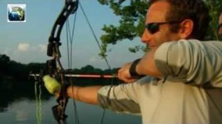 pesca con arco