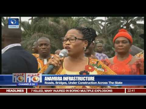 Anambra Infrastructure: Governor Obiano Inspects Projects