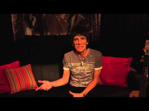 Ronnie Wood: Art and Music exhibition opens