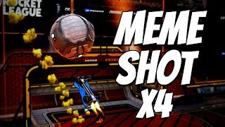 4 MEME SHOTS IN 1 GAME | Rocket League Goal of the Day #8 (Best Goals / Highlights)
