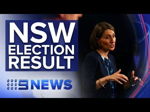 The Liberal government holds on to power in NSW state election | Nine News Australia