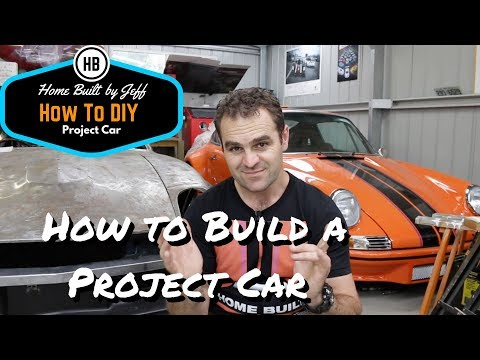 How you can learn to build your own project car