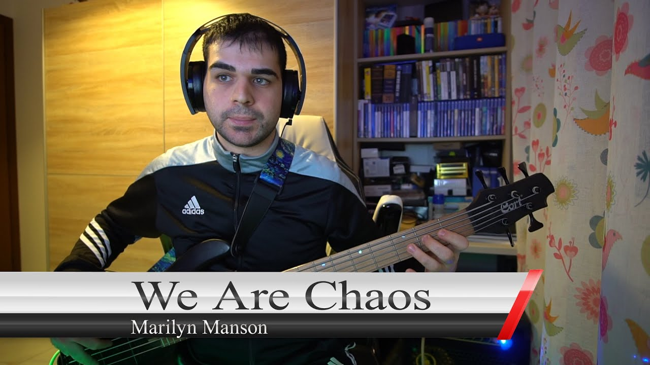 We Are Chaos - Marilyn Manson cover BASS (with TAB)