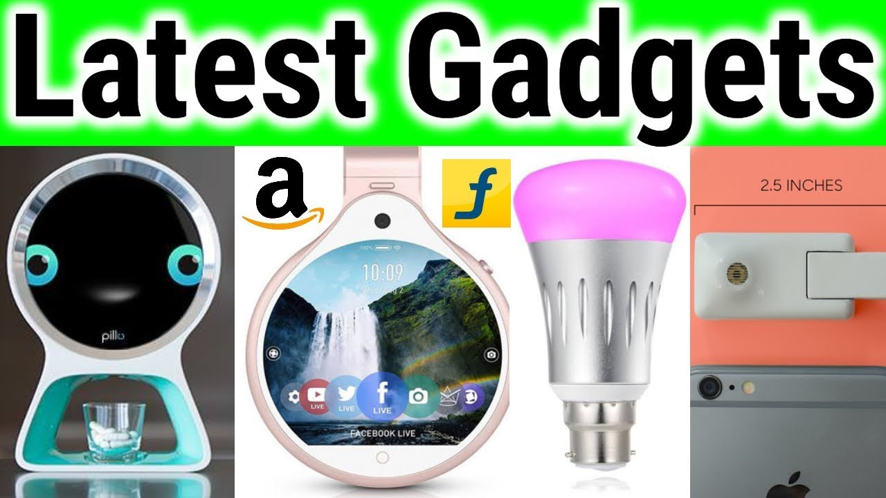 Top 5 Latest High Tech Gadgets Future Technology Modern Cool Upcoming Tool