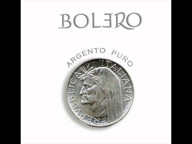 BOLERO feat MIKE TERRANA - L'AMOR SEGRETO - ARGENTO PURO
