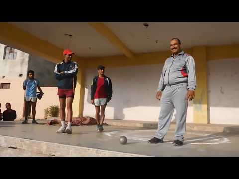 Shot Put Throw Tips and tricks by State Champion Surendra ji National Athlete OP Sir