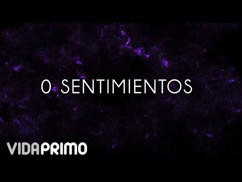Jon Z - 0 Sentimientos [Lyric Video]