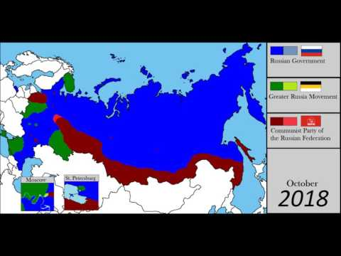 Second Russian Civil War -Alternate Mapping-