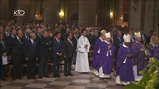 Messe à l'intention des victimes de Saint-Etienne-du-Rouvray et de leurs familles