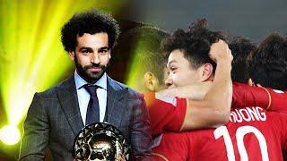 Bản tin BongDa 9/1 | Việt Nam thua đáng tiếc; Salah ẵm QBV châu Phi