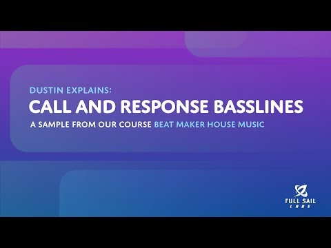Call and Response Basslines | Beat Maker House Music