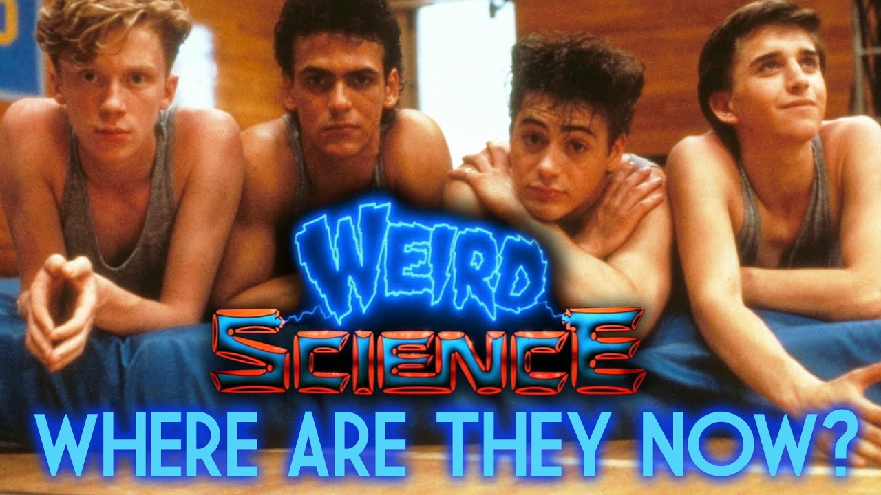 weird science where are they now youtube