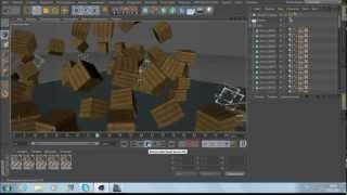 Туториал! Взрыв в мире minecraft - Cinema 4D