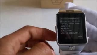 Smartwatch Dz09 versiones y codigos