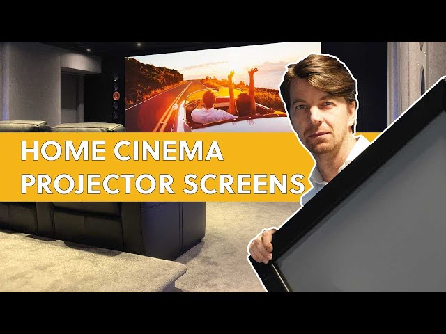 Top Tips For Choosing Your Home Cinema Projector Screen