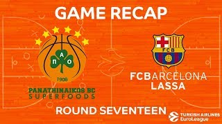 Highlights: Panathinaikos Superfoods Athens - FC Barcelona Lassa