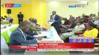 Akaranga, Tom Kajwang and Ongoro appear before IEBC over electoral malpractice