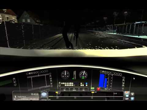 Train Simulator 2014 - [ICE3] Augsburg - Munich (Night Storm Weather)