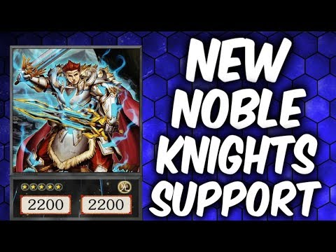 Yugioh NOBLE KNIGHTS vs NOBLE KNIGHTS (Yu-gi-oh Competitive Deck Duel!)