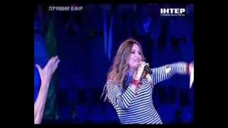 Наталья Могилевская - Морские звезды live @ МАЙDАН'S 2012