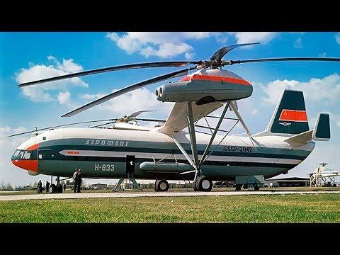奇抜で過激な6機のヘリコプター
