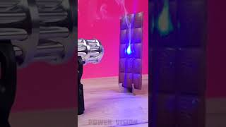 Experiment + Most Powerful Laser + Chocolate #satisfying #chocolate #laser #tests