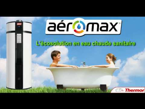 ballon d 39 eau chaude thermodynamique thermor a romax youtube. Black Bedroom Furniture Sets. Home Design Ideas
