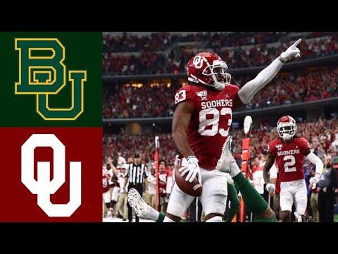 #7 Baylor vs #6 Oklahoma 2019 Big 12 Championship Highlights (F/OT) | College Football Highlights