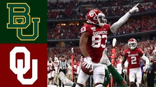 #7 Baylor vs #6 Oklahoma 2019 Big 12 Championship Highlights (F/OT) | College Football Highlights