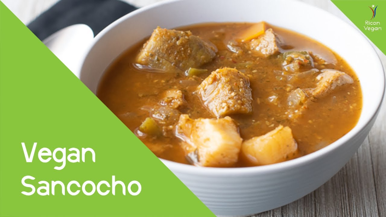Vegan Sancocho Recipe | Rican Vegan