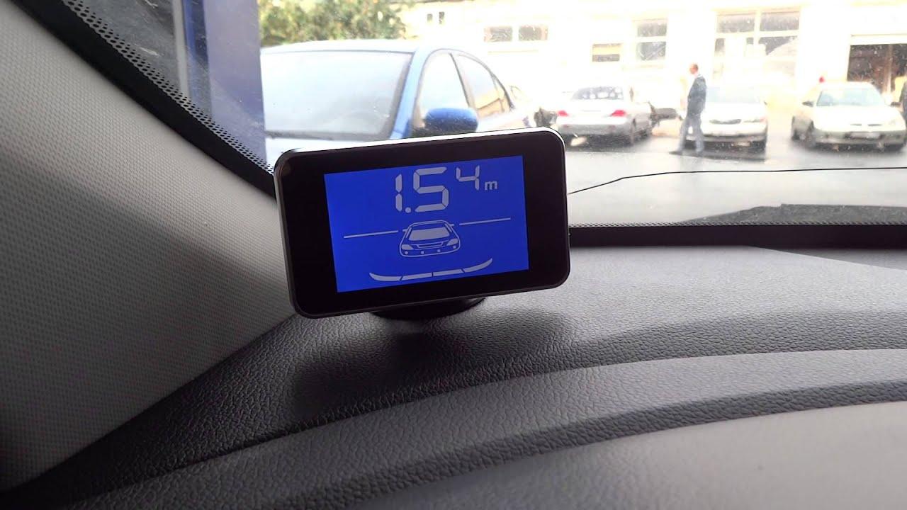 установка парктроника киа рио 4 в задний бампер фото