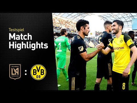 Sahin rettet furios, Milli trifft eiskalt |Los Angeles FC - BVB 1:1 | Highlights