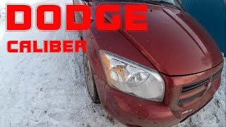 Dodge Caliber 2006г. 1.8 (быстро-обзор)