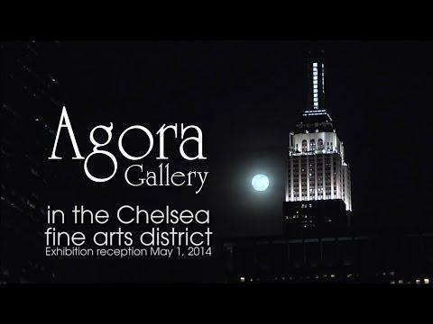 Reception May 1, 2014 at Agora Gallery, NYC