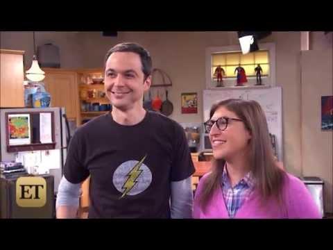 The Big Bang Theory -  Behind The Scenes - Jim Parsons and Mayim Bialik