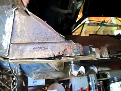 1968 Mustang Torque Box Removal Quot Jade Quot Part 4 Youtube