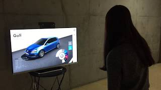 [CLIUS]Car Configurator_Kinect