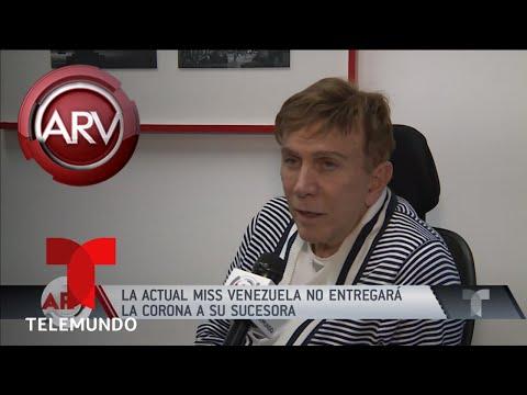 Controversia Miss Venezuela sin Osmel de Sousa | Al Rojo Vivo | Telemundo