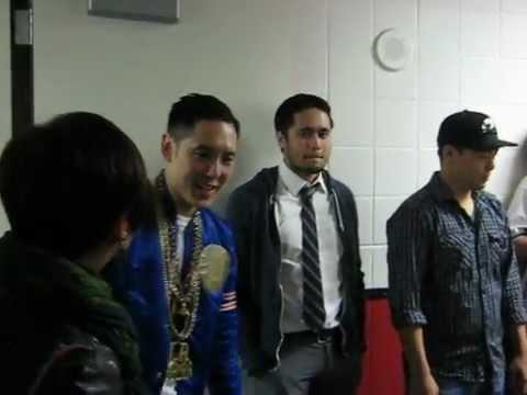 "Far East Movement - Backstage - Key Arena - ""Ahhhhhh!"""