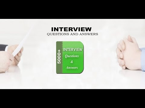 Interview Question and Answers - Apps on Google Play