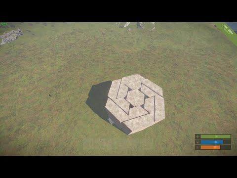 Ev Tasarımı ( Base Design ) Çok C4 Harcatan Ev | Rust Türkçe | Bölüm #7