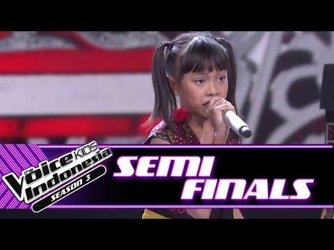 "Vani ""Butet - Sik Sik Sibatumanikam (Medley)"" | Semifinals | The Voice Kids Indonesia Season 3 GTV"