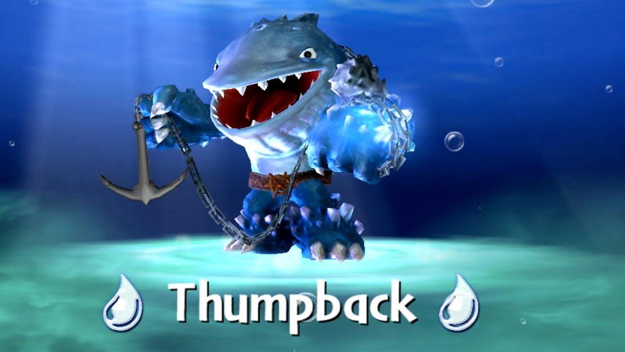 Skylanders giants thumpback unboxing review youtube - Skylanders thumpback ...