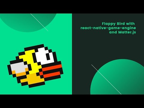 Flappy Bird with react-native-game-engine and Matter.js