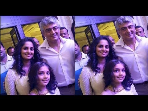 Ajith Shalini Family With Daughter Anoushka Unseen Latest Video