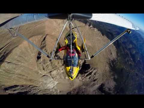 3 Ultralights -15,000 feet over Pikes Peak, Colorado 2016