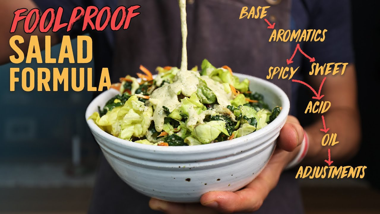 How to Finally Make A Salad that Doesn't Suck...